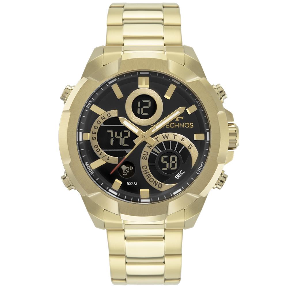 Relógio Masculino Technos Digiana Dourado W23721AAA/1P