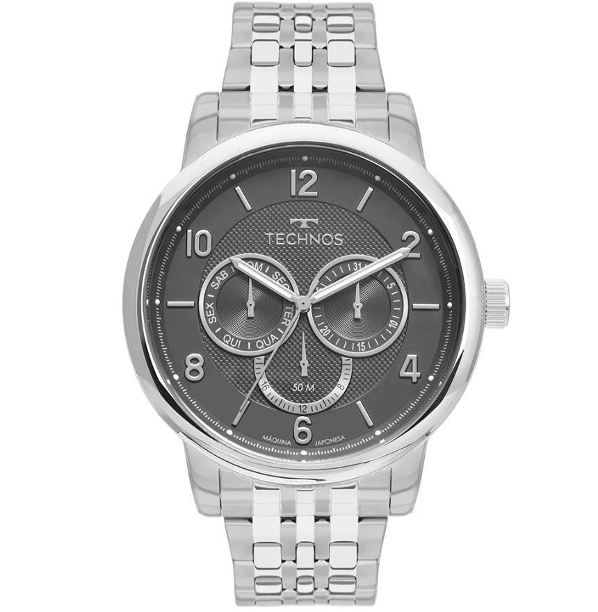 Relógio Masculino Technos Grandtech 6P79BK/1C
