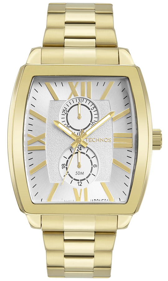 Relógio Masculino Technos Grandtech Dourado 6P23AM/1K