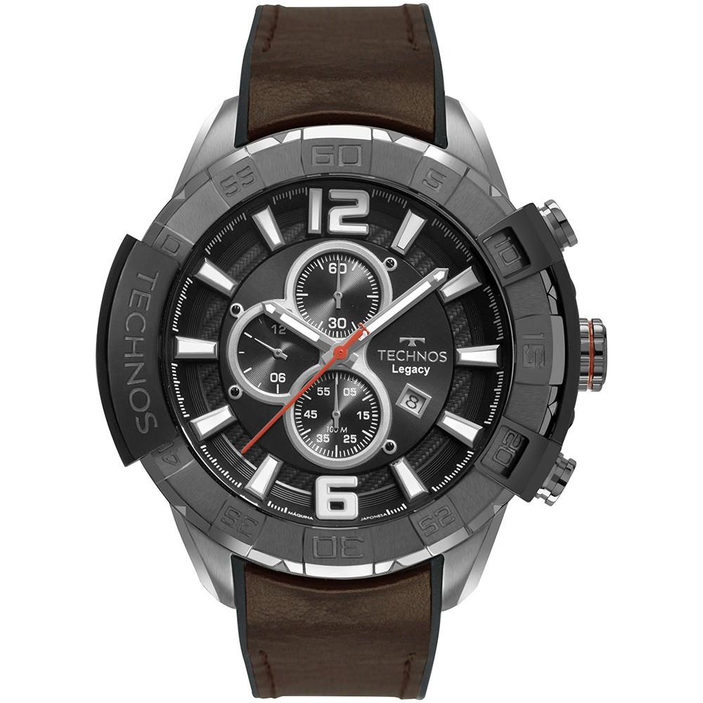 Relógio Masculino Technos Legacy Couro OS10FF/2P