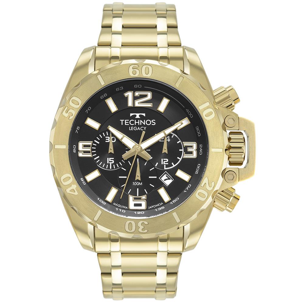 Relógio Masculino Technos Legacy Dourado JS25CQ/1P
