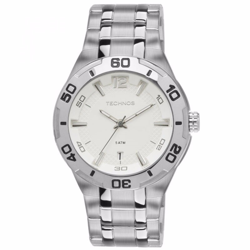 Relógio Masculino Technos Prata 2315KD/1B