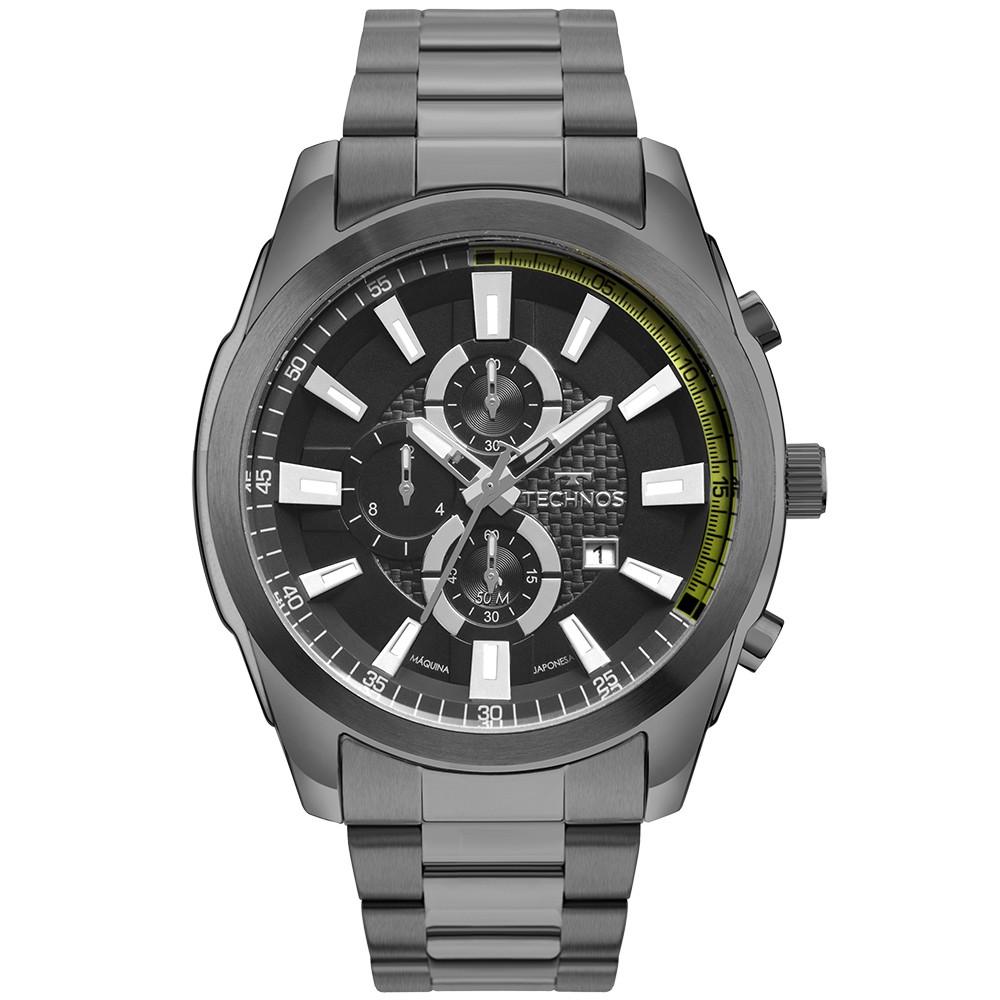 Relógio Masculino Technos Skymaster Grafite OS1ABD/4P