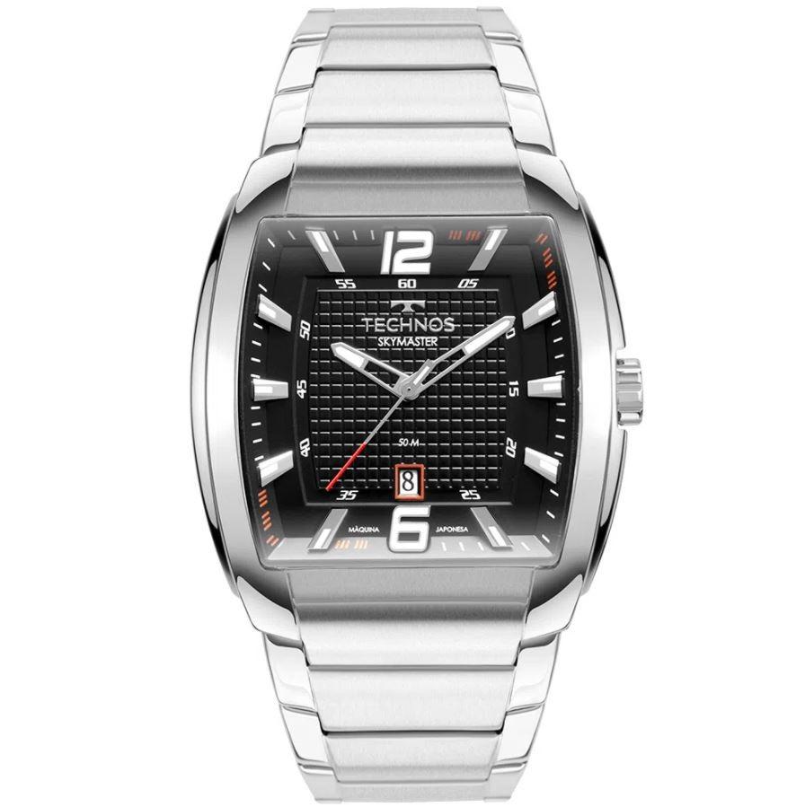 Relógio Masculino Technos Skymaster Prata 2115MWK/1P