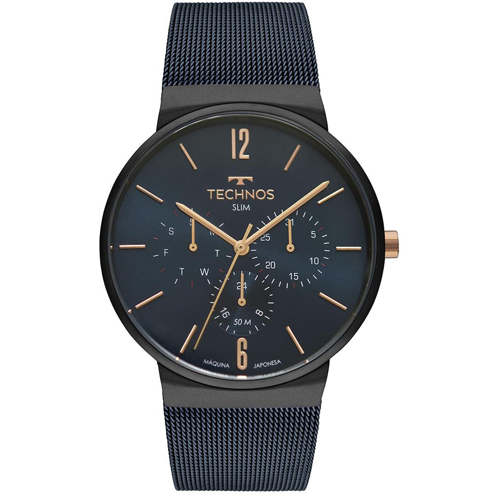 Relógio Masculino Technos Slim 6P29AKP/4A