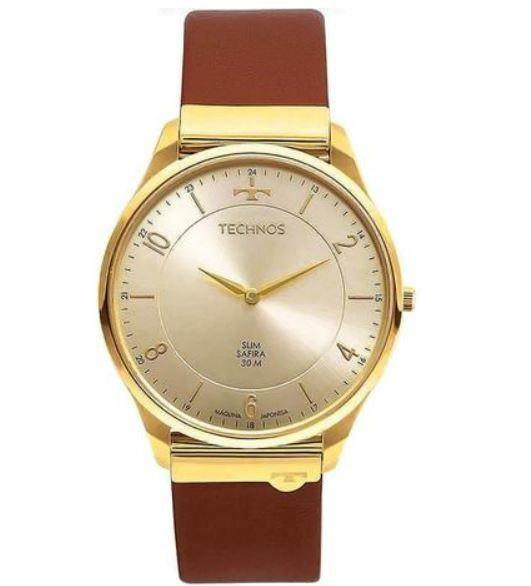 Relógio Masculino Technos Slim 9T22AJ/2X