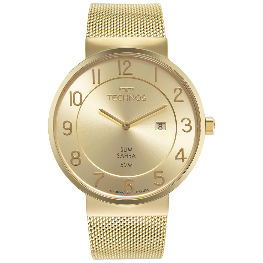Relógio Masculino Technos Slim GM15AO/1K
