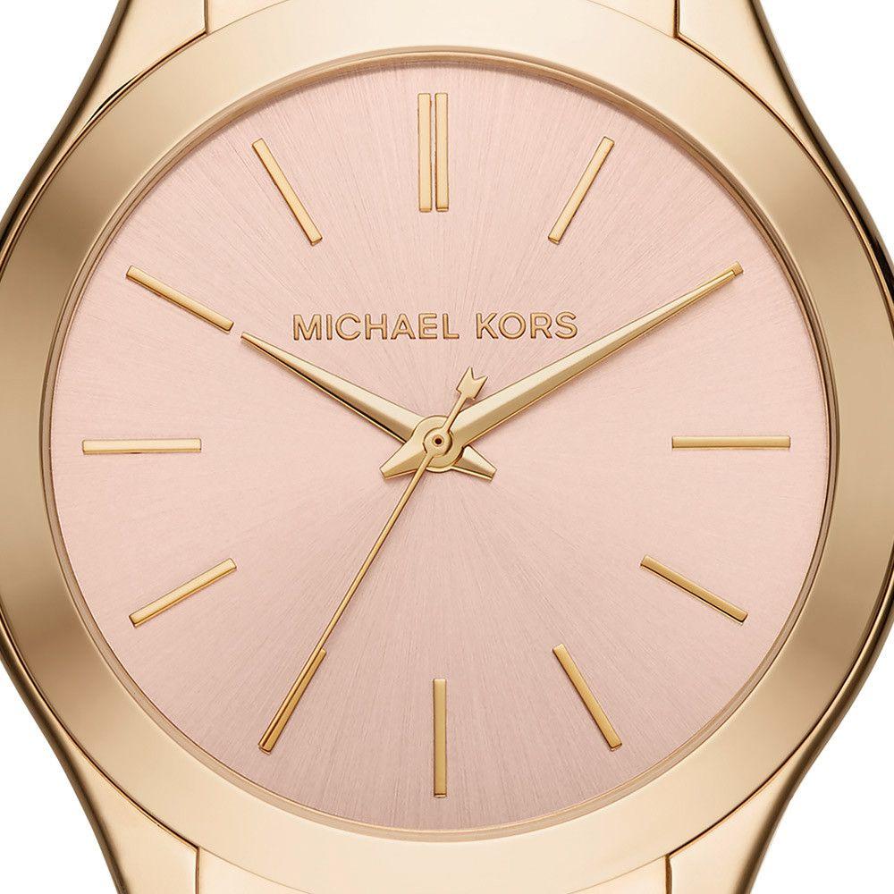 Relógio Michael Kors slim Runway Feminino MK3493/5TN