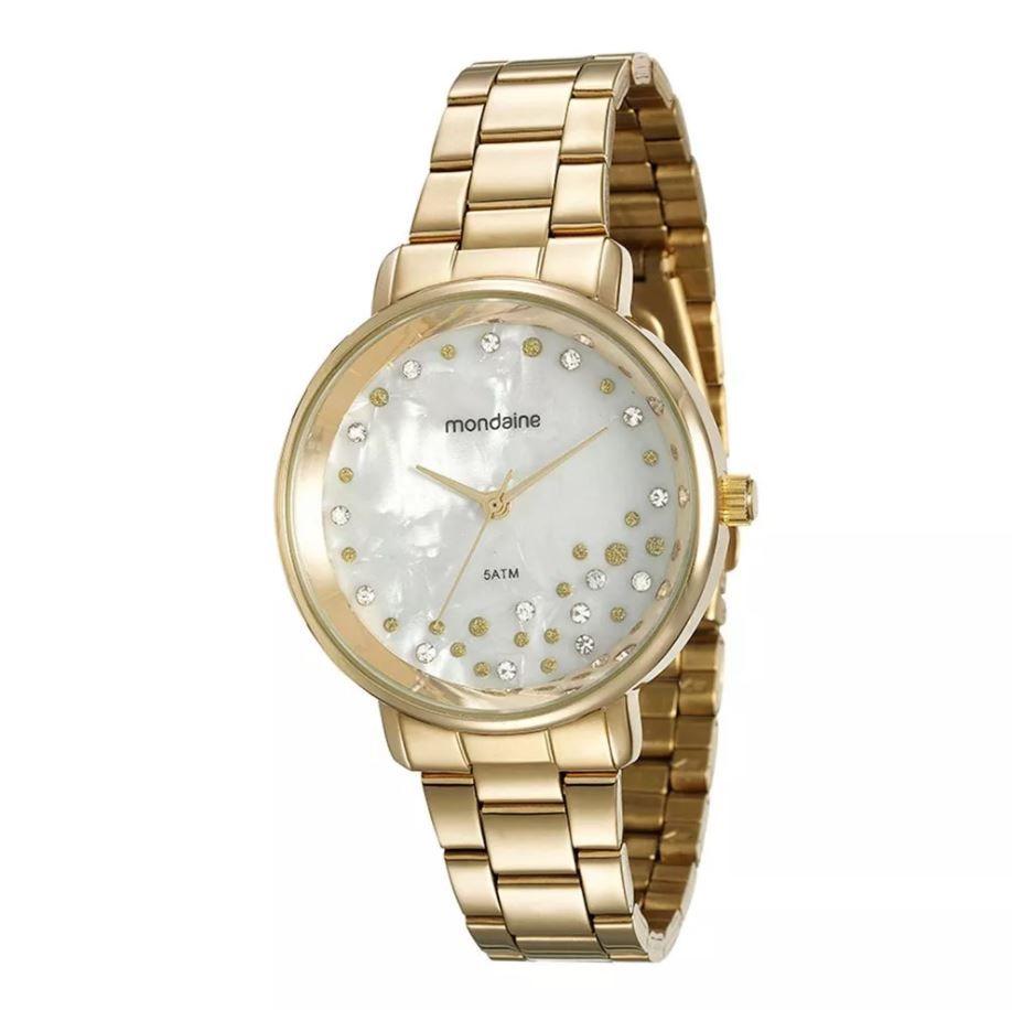 Relógio Mondaine Cristais Feminino 53571LPMVDE1