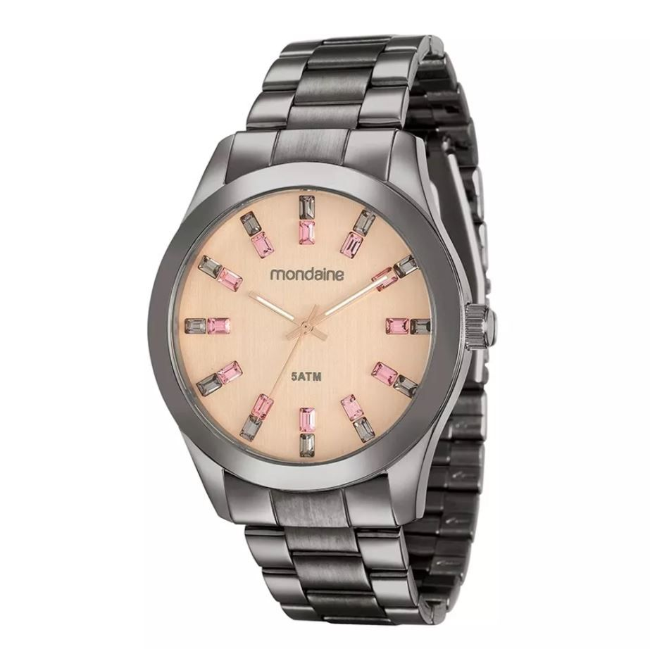 Relógio Mondaine Feminino Preto 78663LPMVSA8