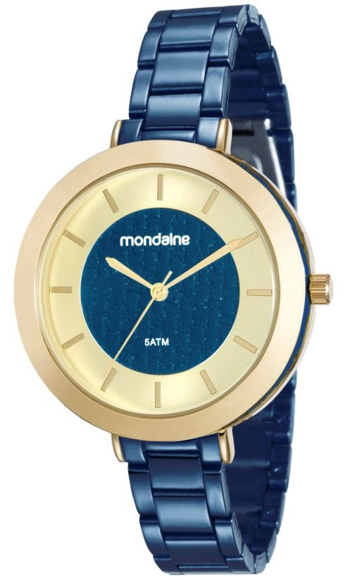 Relógio Mondaine Feminino Azul 99172LPMVLE3