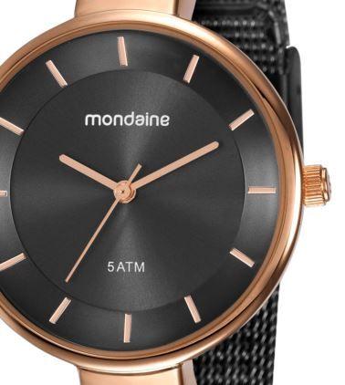 Relógio Mondaine Feminino Black e Rose 76597LPMVHE6