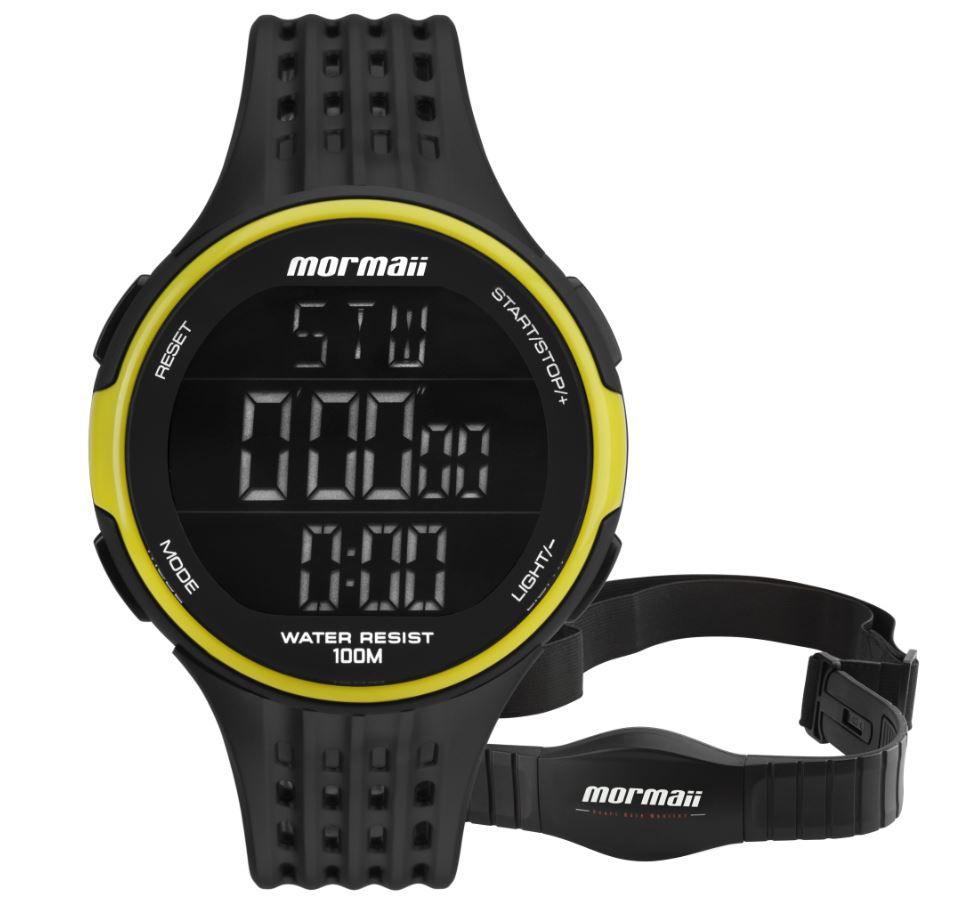 Relógio Monitor Cardiaco Mormaii MO11559AA/8V