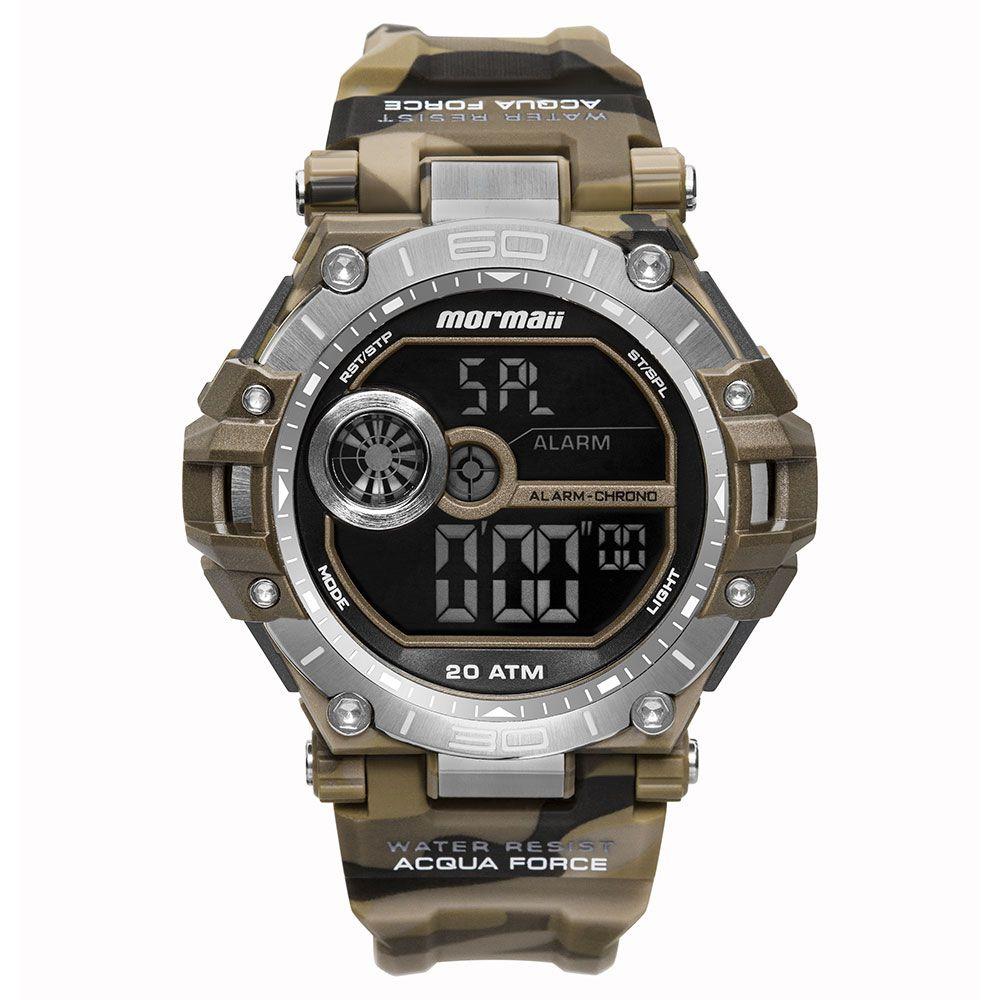 Relógio Mormaii Acqua Force Camuflado Masculino MO14073AB/8M