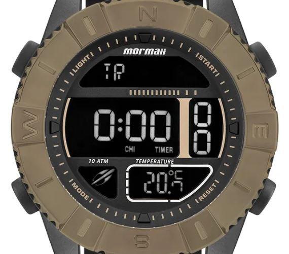 Relógio Mormaii Acquaforce Marrom Masculino MO5334AD/8P