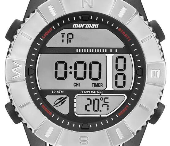 Relógio Mormaii Acquaforce Prata Masculino MO5334AC/8P
