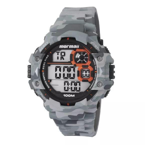 Relógio Mormaii Camuflado Masculino MO13609A/8C
