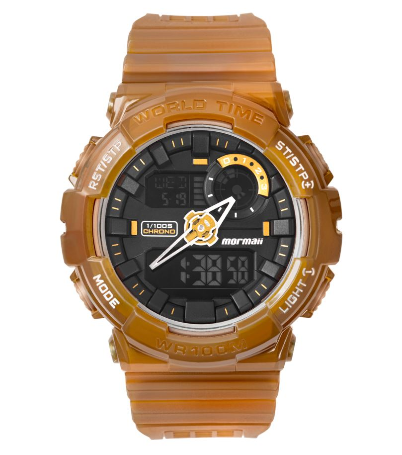 Relógio Masculino Mormaii Action Digiana MO19781AB/8M