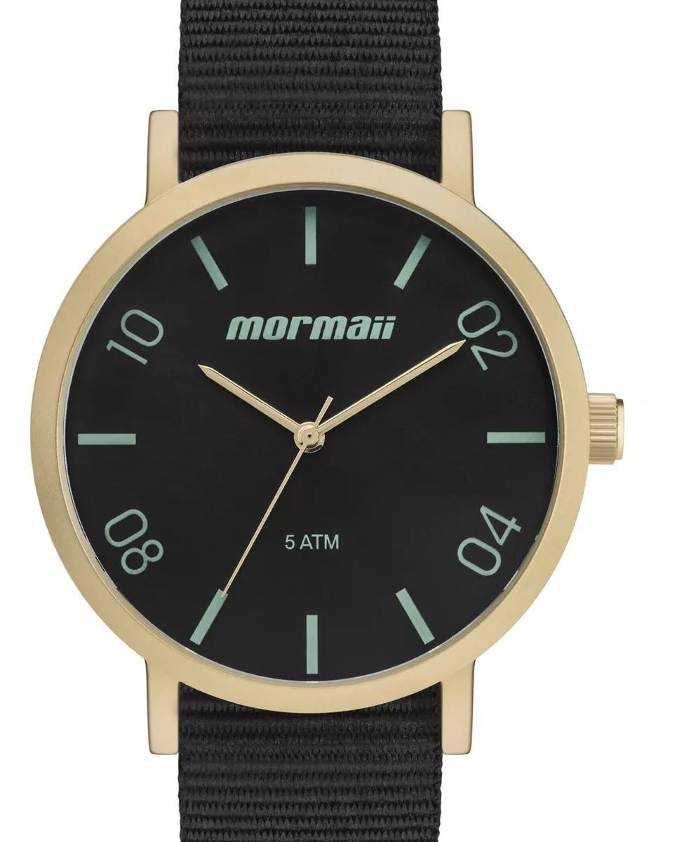 Relógio Mormaii Preto Unissex MO2035JZ/2V