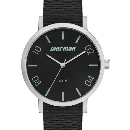 Relógio Mormaii Preto Unissex MO2035KB/0C