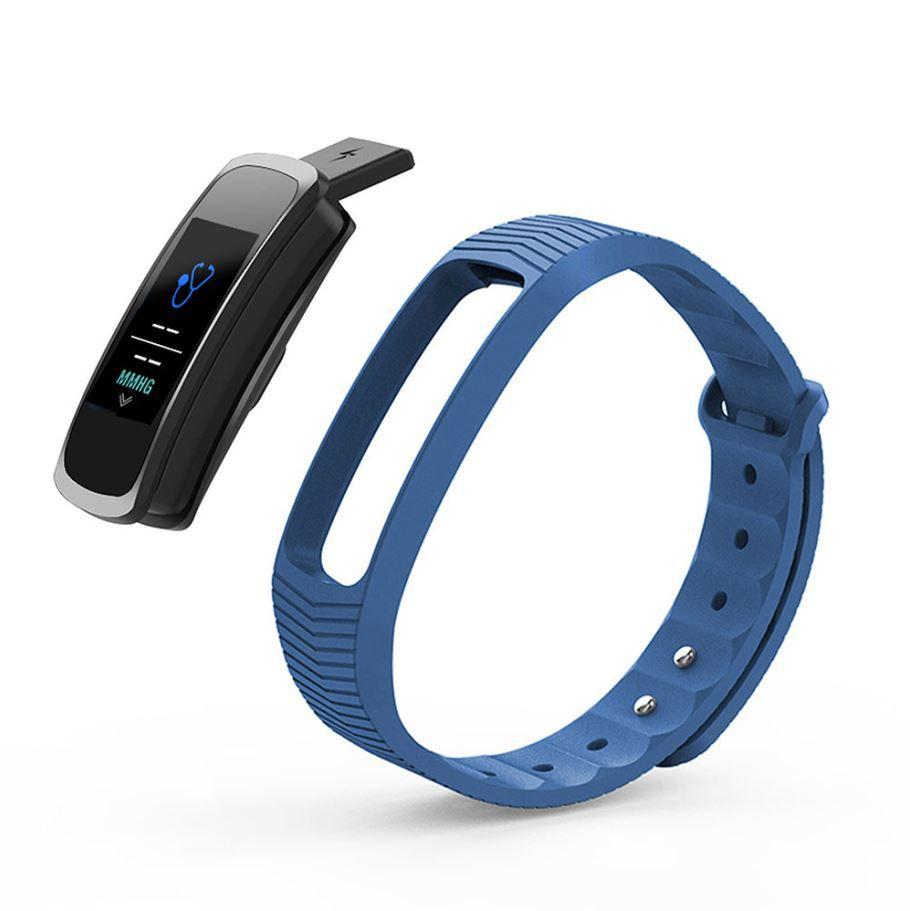 Relógio Mormaii Smart Fit GPS Pulseira Esportiva Azul Unissex MOB3AB/8A
