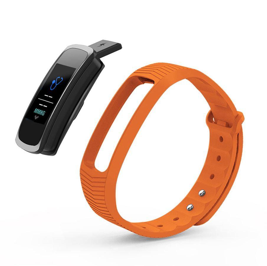 Relógio Mormaii Smart Fit GPS Pulseira Esportiva Laranja Unissex MOB3AC/8L