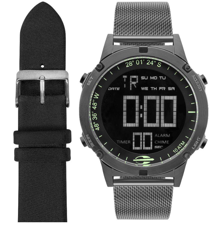 Relógio Mormaii Troca Pulseiras Masculino MOW13901C/T4C