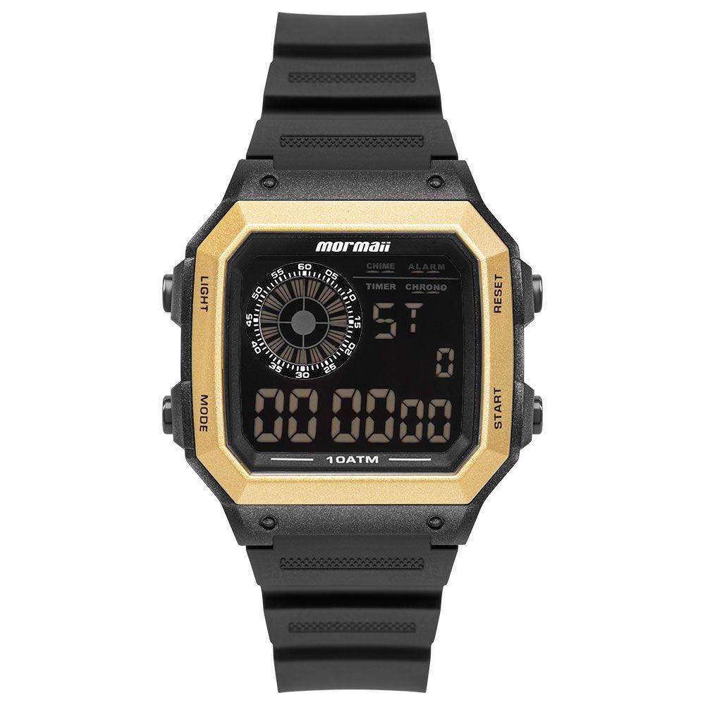 Relógio Masculino Mormaii Vibe Preto / Dourado MO2002JC/8D