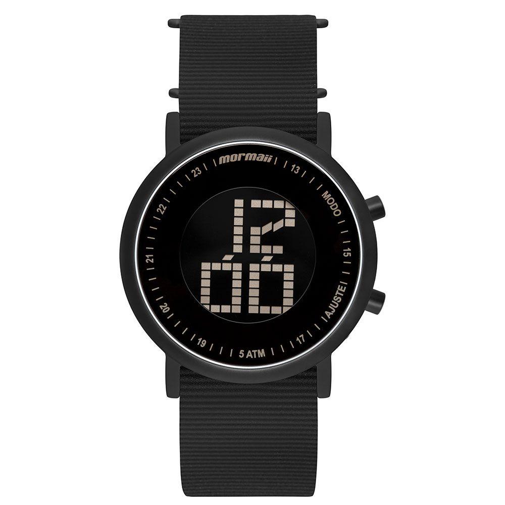 Relógio Mormaii Vibe Preto Unissex - MOBJT003AB/2T