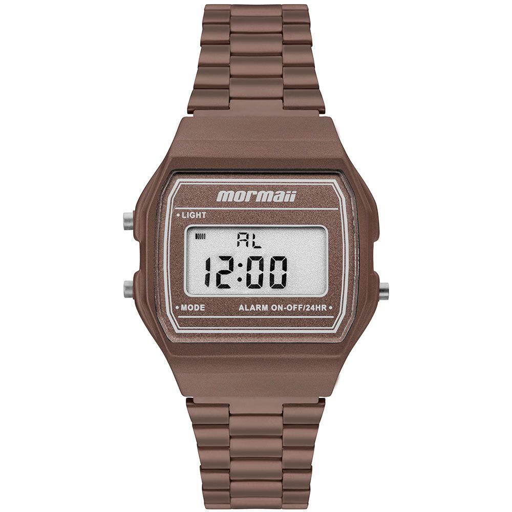 Relógio Mormaii Vintage Marrom Unissex MOJH02BJ/8M