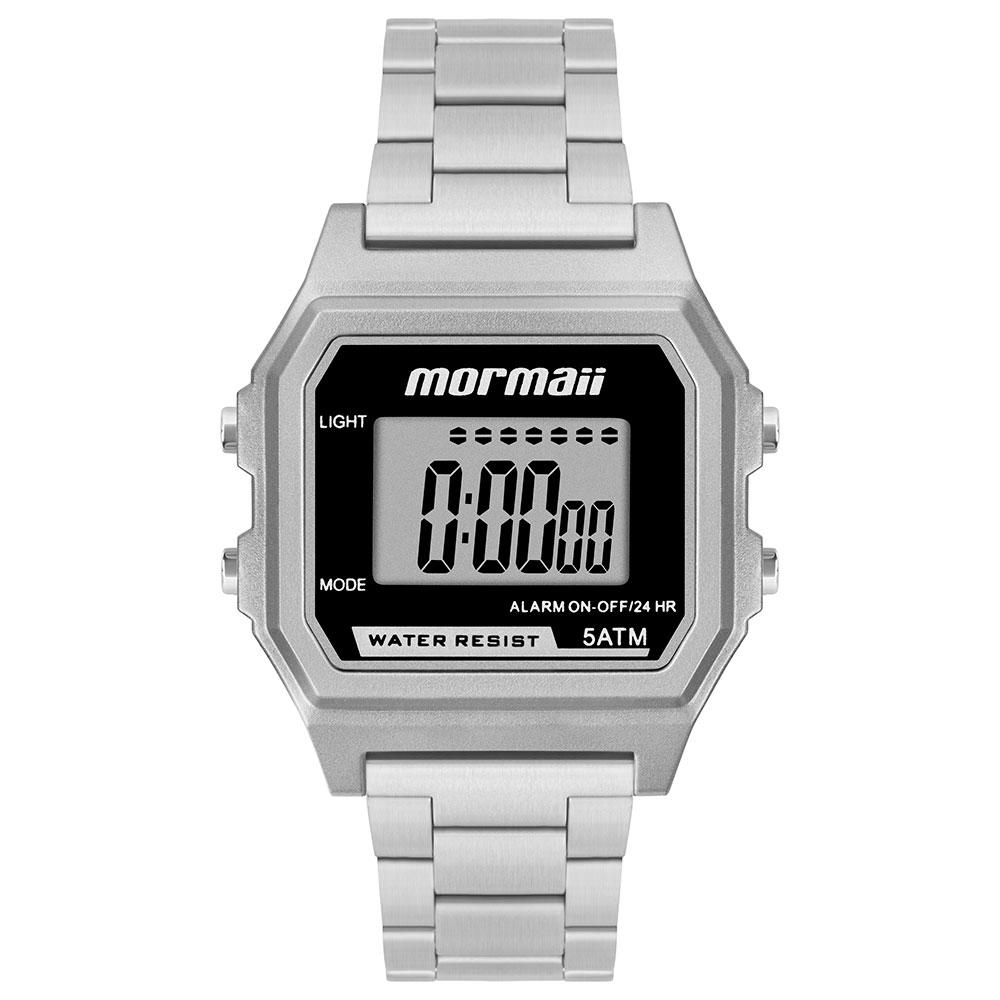 Relógio Mormaii Vintage Prata MOJH02AJP/K7P