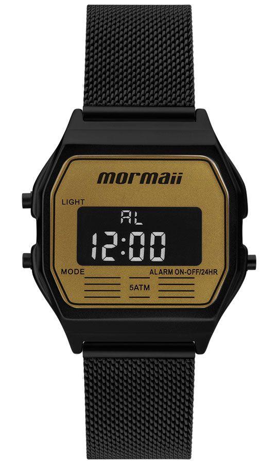 Relógio Mormaii Vintage Preto MOJH02BD/4D