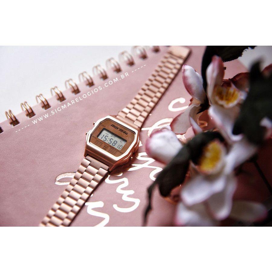Relógio Mormaii Vintage Rose Unissex MOJH02AI/4J