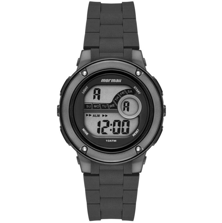 Relógio Mormaii Wave Preto / Grafite Unissex MO8740AC/8C