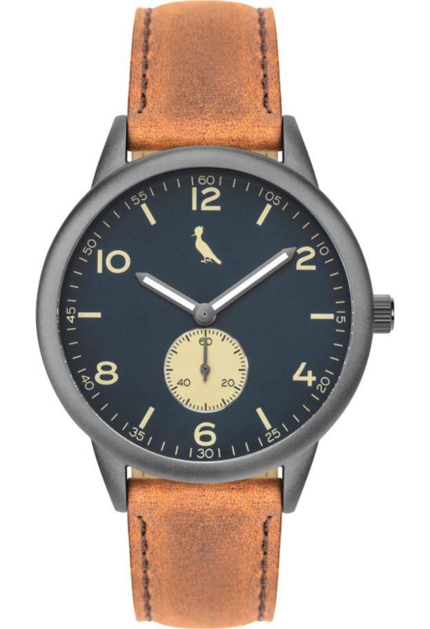 Relógio Reserva Couro Marrom RE1L45AB/2A