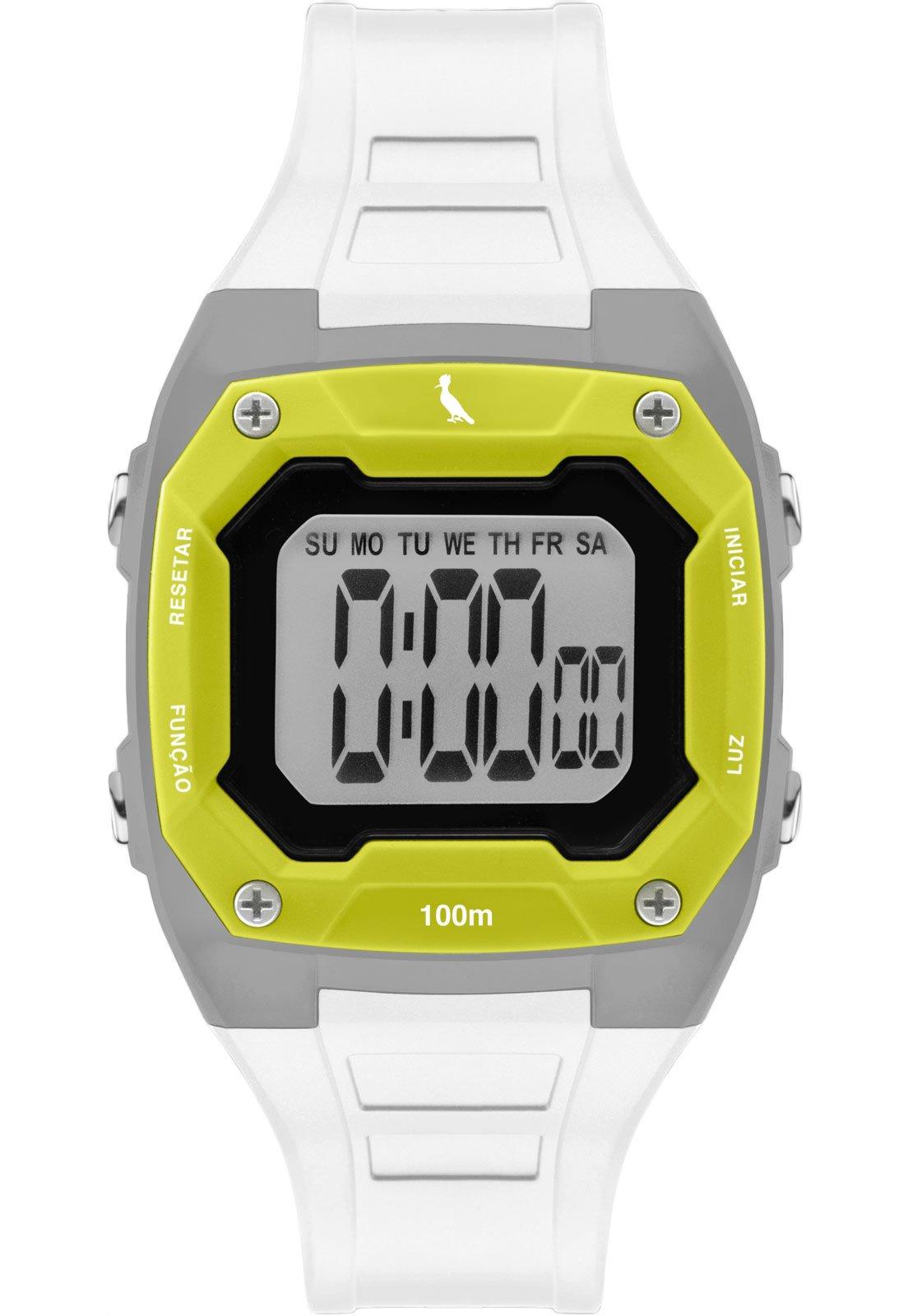 Relógio Reserva Digital Basic Branco RE9451AC/8Y