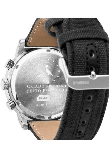 Relógio Reserva Multifunção Preto REJP15AB/2C