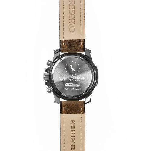 Relógio Reserva Premium Multifunção Marrom REJP25AB/2M