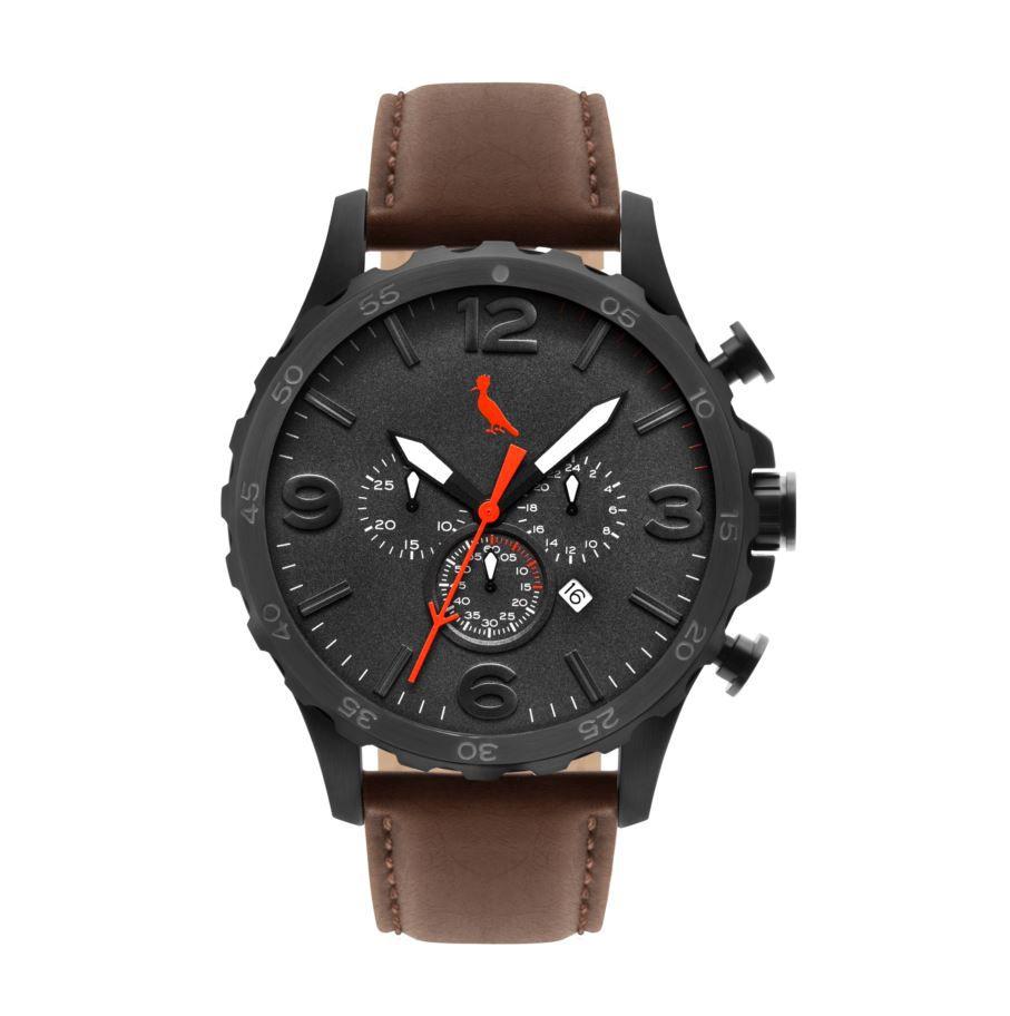 Relógio Reserva Premium Multifunção Marrom REJP25AC/2M