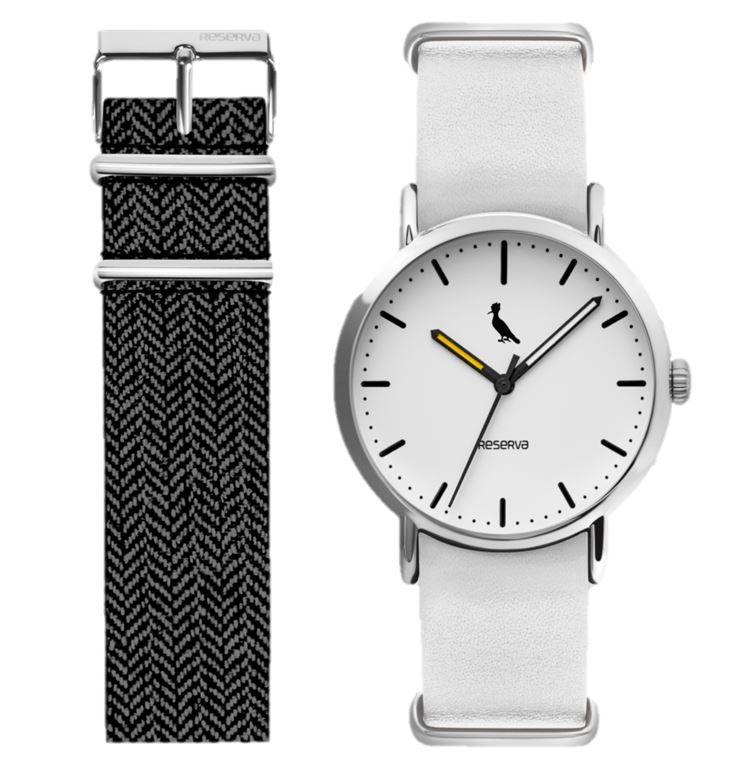 c16af7a79 Relógio Reserva Troca Pulseiras Branco / Mesclado RE2035AD/2B ...