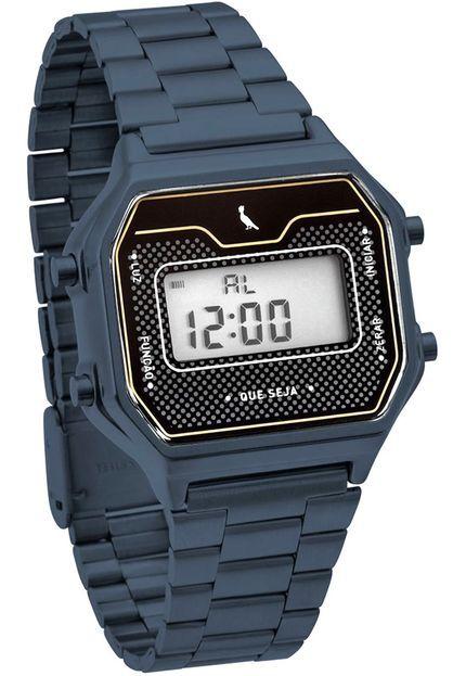 Relógio Reserva Vintage Azul REBJ3715AC/4A