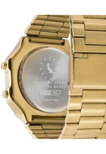 Relógio Reserva Vintage Dourado REBJ3715AA/4D