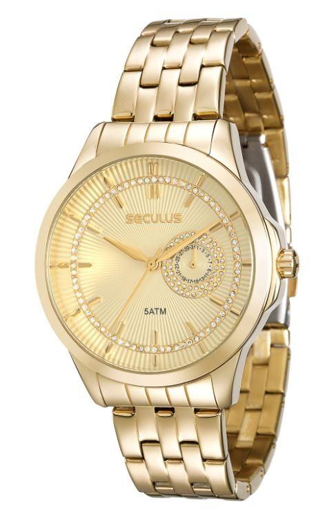 Relógio Seculus Feminino 20374LPSVDS1