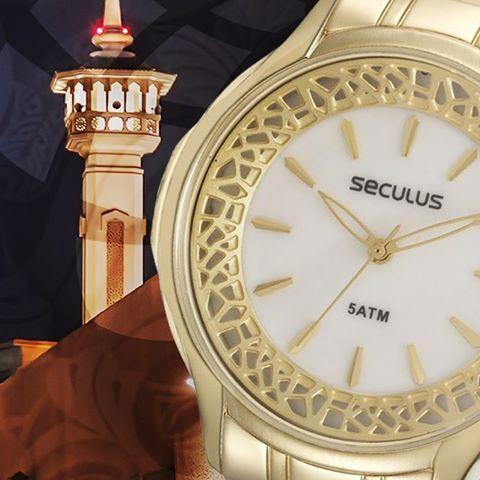 Relógio Seculus Feminino 28755LPSVDS1