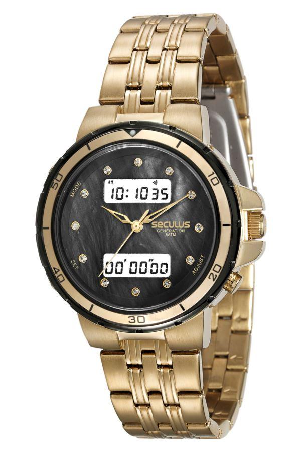 19e1d938159 Relógio Seculus Feminino Anadigi 20532LPSVHA1 - Relógios de Fabrica