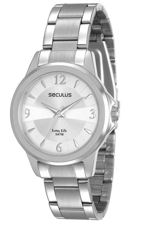 Relógio Seculus Feminino Long Life 28599L0SGNA1