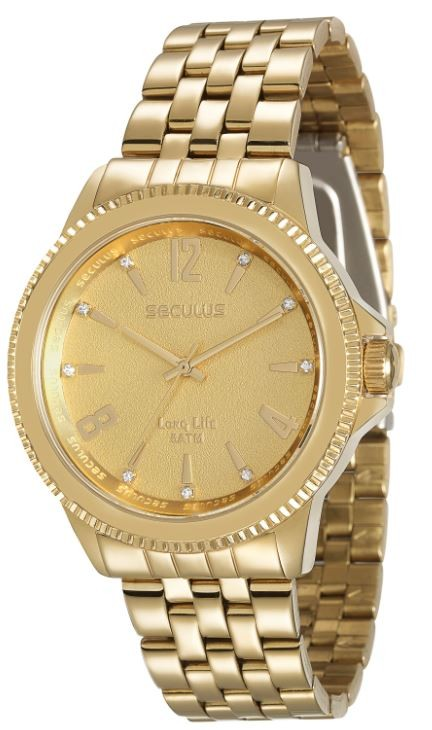 Relógio Seculus Feminino Long Life 28664LPSVDA1