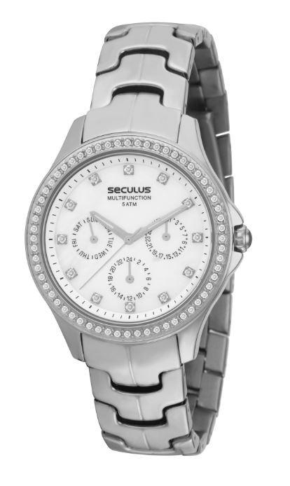Relógio Seculus Feminino Multifunction 23258L0SGNB1
