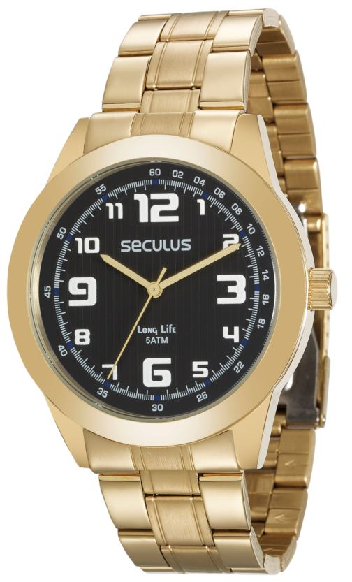 Relógio Seculus Masculino 28887GPSVDA2
