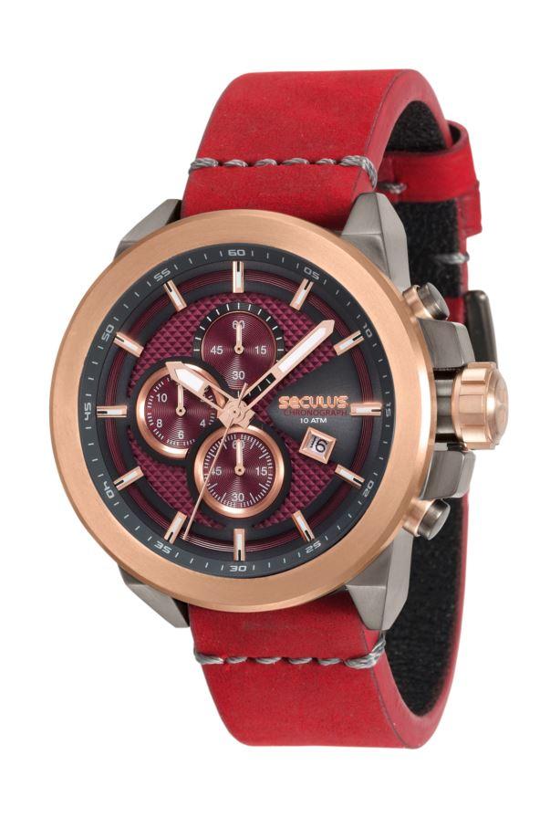Relógio Seculus Masculino Chronograph 13020GPSVUC3
